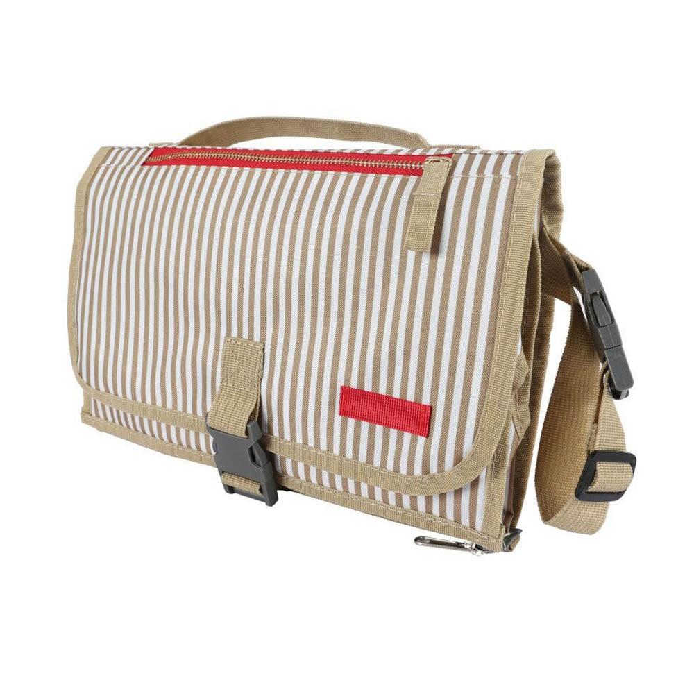 Новые 3 в 1 Водонепроницаемый пеленальный коврик пеленки мнчества, Портативный чехол для детских подгузников коврик чистой ручной складной сумка из узорчатой ткани - Цвет: 85