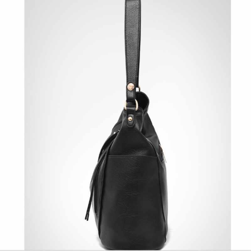 100% bolsa de couro genuíno das mulheres 2019 novas senhoras grande saco de moda feminina saco de ombro slung doce senhora estilo saco