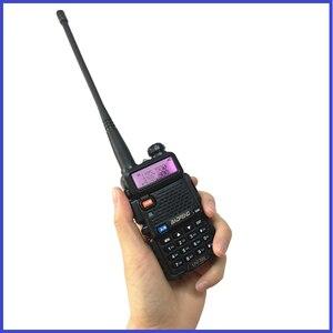Image 5 - Мощная рация Baofeng UV 5R 8 Вт портативная любительская радиостанция двухдиапазонный УФ 5R Ham CB радиоприемопередатчик для охоты 10 км
