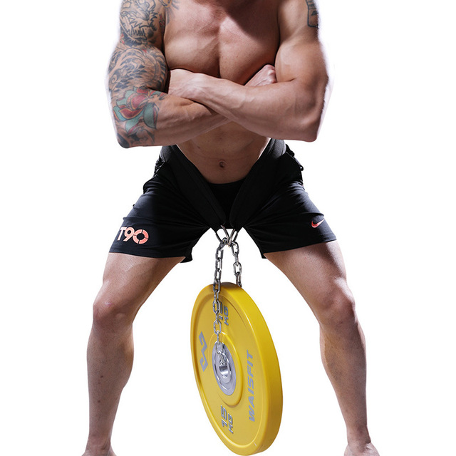 Weight Lifting Belt with Chain for Pull Ups  2