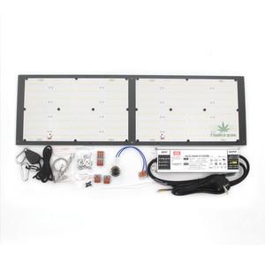 Image 5 - Kısılabilir ON/OFF anahtarı CREE XPE UV IR kuantum Samsung led lm301B kurulu 120W 240W QB288 Meanwell sürücüsü ile ışık büyümek