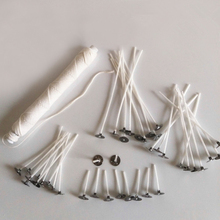 Cotton Candle Wicks Candle-Making-Tools Christmas-Decoration Birthday Smokeless 100pcs