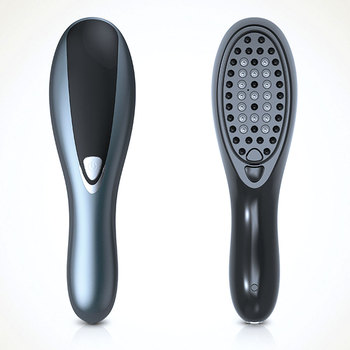 Multifunction Hair Regrowth Comb Vibration Hair Regrowth Stimulate Hair Growth Massager Can Imported Into Liquids Scalp Massage