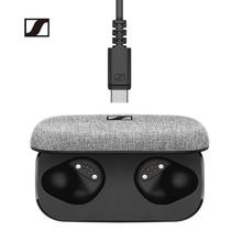 Sennheiser TWS אוזניות מומנטום אמיתי אלחוטי Bluetooth אוזניות HiFi מוסיקה אוזניות aptX אוזניות דיבורית עבור טלפון חכם