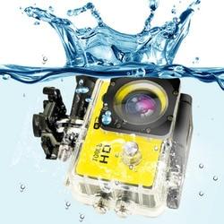 Owgyml Kolam Olahraga Action Mini Kamera Tahan Air Cam Warna Layar Tahan Air Video Surveillance Kamera Bawah Air