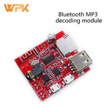 Bluetooth mp3 módulo de decodificação placa de recepção áudio lossless carro alto-falante amplificador modificado bluetooth 4.1 placa circuito 1pcs