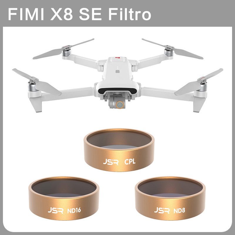 Original FIMI X8 SE Filters UV/CPL/ND4/8/16/32 Star Night  3/4/5/6 In 1 Set Drone Lens Filters Set For FIMI X8 SE HD Camera