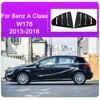 For Mercedes Benz A Class W176 CLA C Class W117 C117 W205 Car Rear Door Louver Window Triangle Shutters Trim Sticker Accessories discount