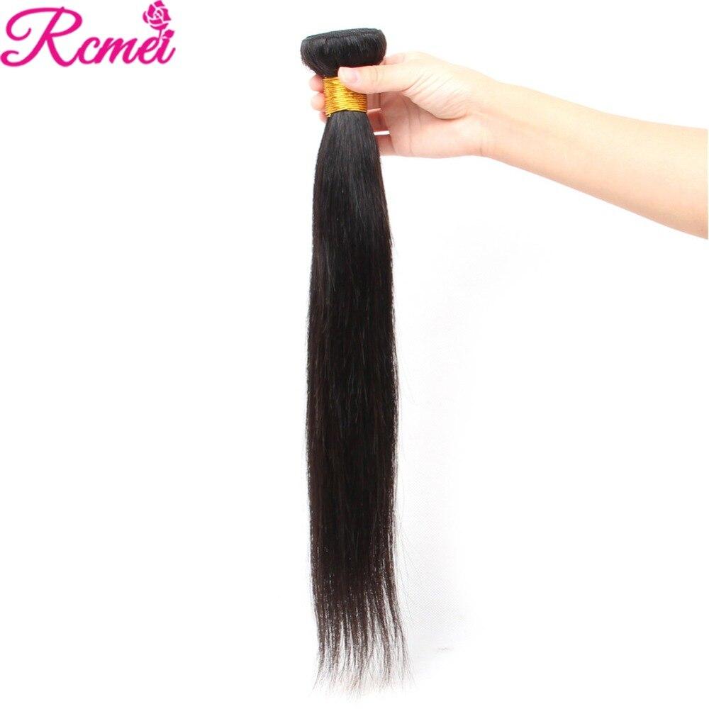 H6b0435213c08430aafc6cc197d2db69fS Brazilian Straight Human Hair Weave Bundles with Closure 3 Bundles With Lace Closure 4*4 Remy Human Hair Bundles Extensions