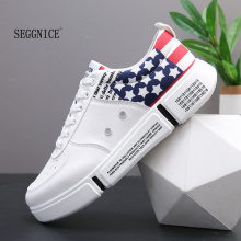 Design brand Men Casual Shoes Hot sale New Fashion Spring Autumn Casual Shoes Men Breathable Black Casual Men Shoes White