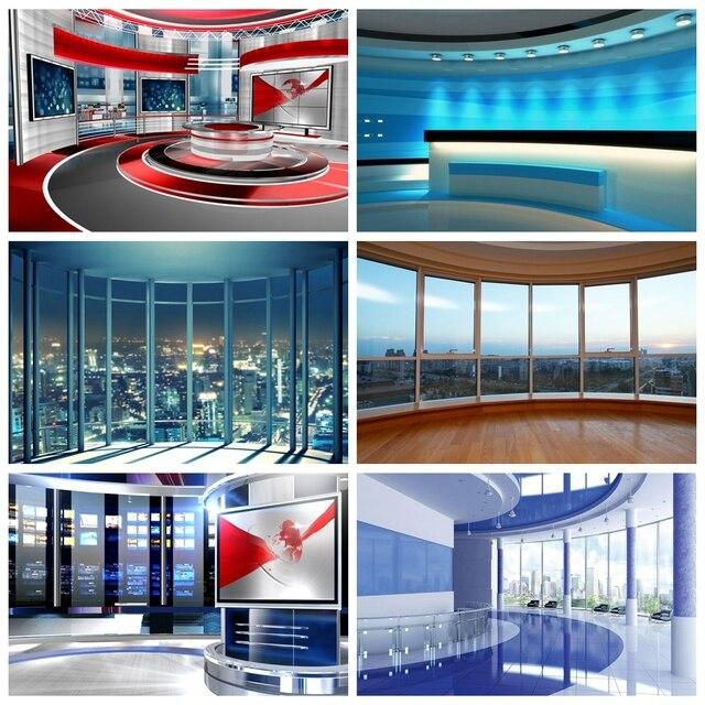 Laeacco moderna città edifici francese finestra tecnologia Video palcoscenico fotografia sfondo foto sfondo per puntelli Studio fotografico