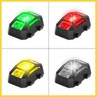 Luces LED de vuelo nocturno para Dron, lámpara estroboscópica de señal, luz de indicador de alarma para DJI Combo FPV/Mavic Air 2/Mini 2, accesorios