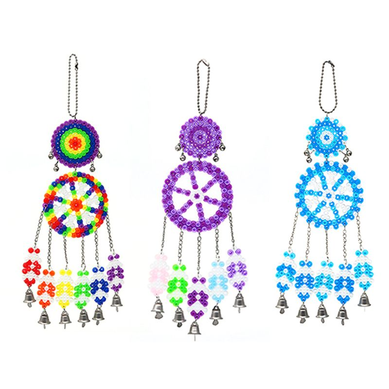 DIY Handmade Wind Chimes Car Pendant Home Room Decoration Gift For Kids Crafts Cute Wind Chime  Craft And Beautiful Bells