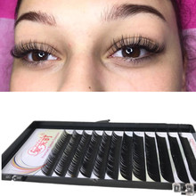 New Arrival 0.03mm CC Curl Eyelash Extension,False Mink Eye Lashes Super Soft Natural Individual Eyelashes