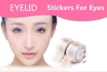 Stickers For Eyelids Women Invisible Double Eyelid Make-up Tape Transparent Auto Eye Stickers For Makeup Double Face Eyelid image