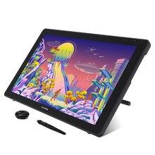 Huion kamvas 22 caneta gráfica tablet monitor caneta display 21.5 polegada tela anti-reflexo 120% s rgb windows mac e android dispositivo