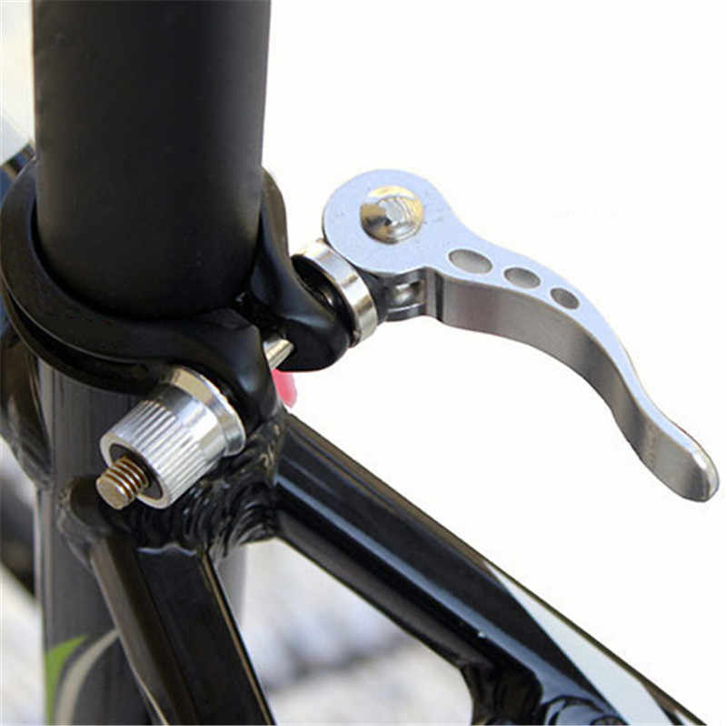 More Color 2 Piece Bicycle Quick Release Quick-Release Seat Clamp M8x55 MM