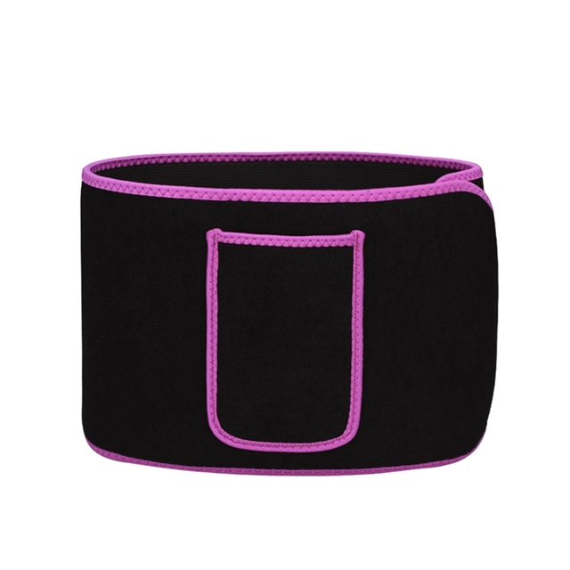 Sweat Waist Trainer Corset Trimmer Belt for Women Weight Loss with Comfortable Phone Pocket 1