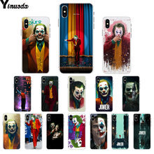 Yinuoda Joker film 2019 TPU Zachte Rubberen Phone Case Cover voor iPhone 5 5Sx 6 7 7plus 8 8 plus X XS MAX XR(China)