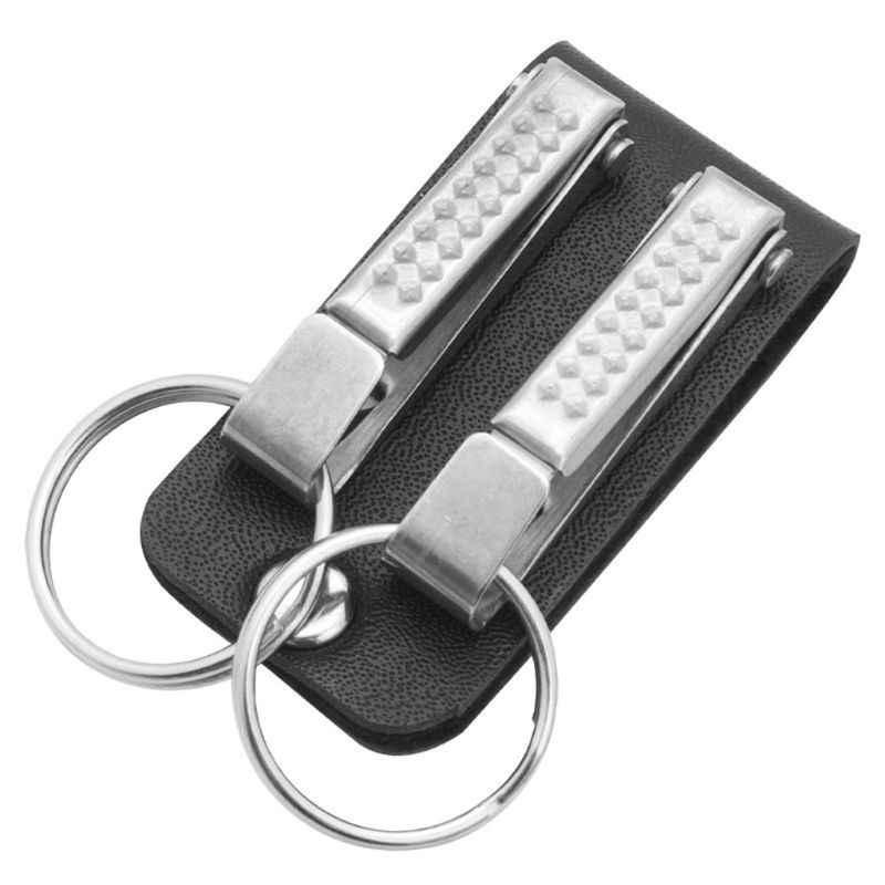 Men Leather Belt Loop Keychain With 2 Detachable Clips Key Ring Belt Key Ring Holder Belt Key Chain Fashion Jewelry Aliexpress
