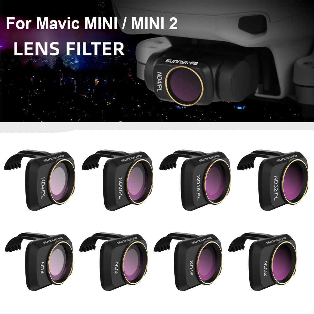 CPL balikha Remplacement de Haute Qualit/é CPL//ND Lentille Filtre Fit pour DJI Mavic Mini Mini 2 Cam/éras Accessoire