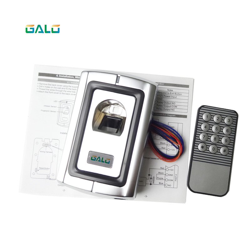 Serrure de porte de boîte en métal indépendante système de contrôle d'accès d'empreinte digitale biologique serrure de porte de sécurité maison intelligente d'empreinte digitale