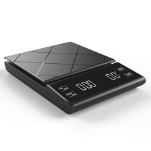 Balance à café électronique avec écran LCD numérique, 3KG, 0.1g, Pour préparer un expresso et verser le poids au goutte-à-goutte