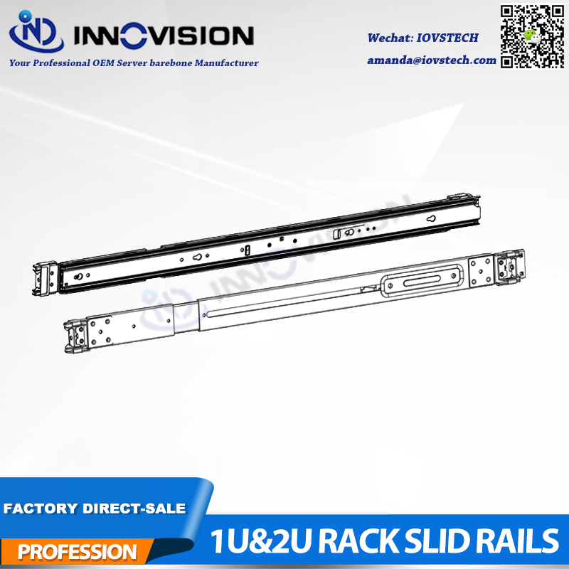 3 Section Sliding Rails Suitable For Our Delicated 1U&2U Hotswap Series Non-universal Rack Server Rails