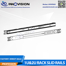 Rails coulissants à 3 sections adaptés à nos rails de serveur de rack Non universels de la série 1U & 2U hotswap(China)