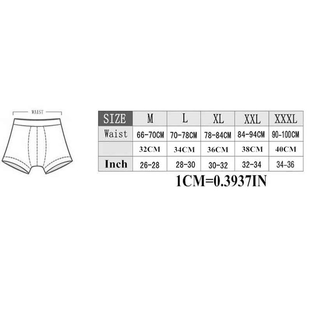 Mens Underwear Boxers Sexy Boxer Silk Bamboo Male Boxer Shorts Cotton Underpants Blue M-XXXL