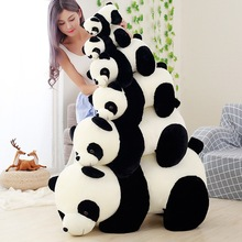 Cute Baby Big Giant Kung Fu Round Mochi Panda Bear Plush Stuffed Animals Toy Pillow Cartoon Kawaii Dolls Girls Plushies Kid Gift the animals of kung fu panda starter level cd isbn 9781910173794