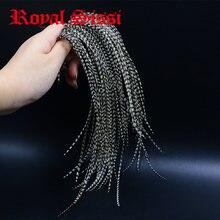Седло для вязания седло royal sissi с 20 перьями белые черные