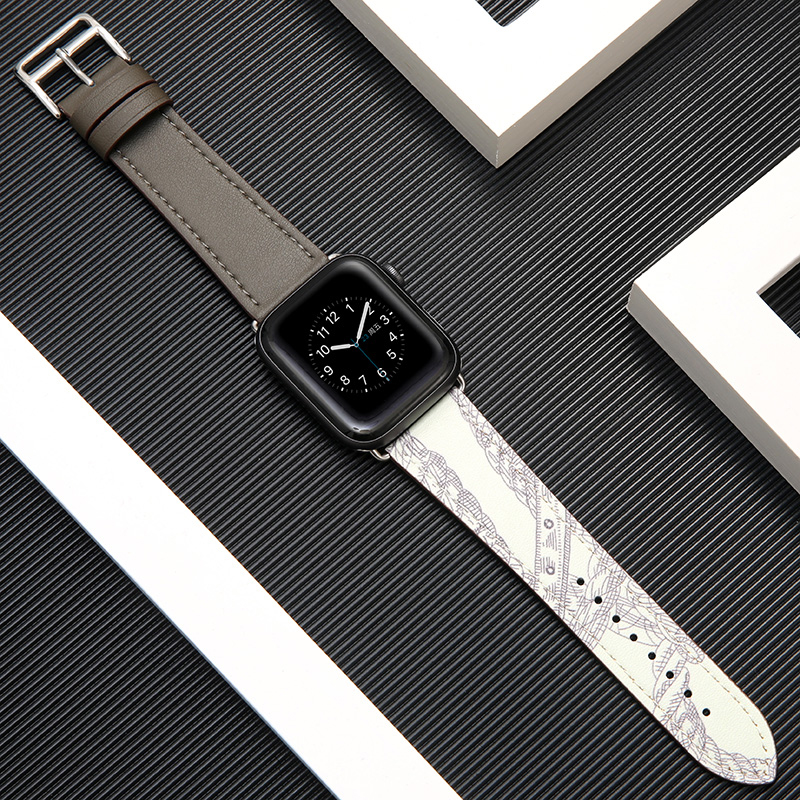 Leather Strap For Apple Watch Band 42mm 38mm Apple Watch 4 5 44mm 40mm Watchband Iwatch Series 5/4/3/2/1 Bracelet Accessories