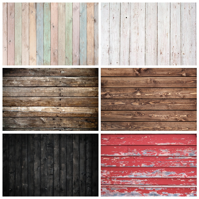 Laeacco Wooden Texture Photography Background Old Planks Stripe Board Hardwood Child Baby Pet Toy Photocall For Photo Backdrops