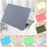New Color Hard Case Cover for MacBook Air Pro 11 13 15 16 Touch Bar A2159 A1989 A1932 with Keyboard Cover Protector