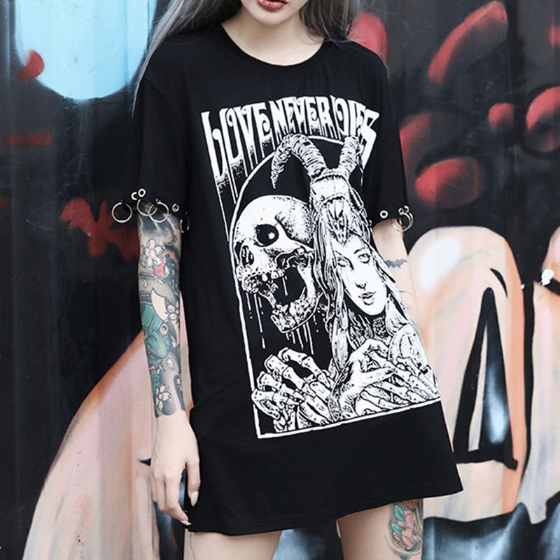 Love Never Dies Detachable Long Sleeve Tee