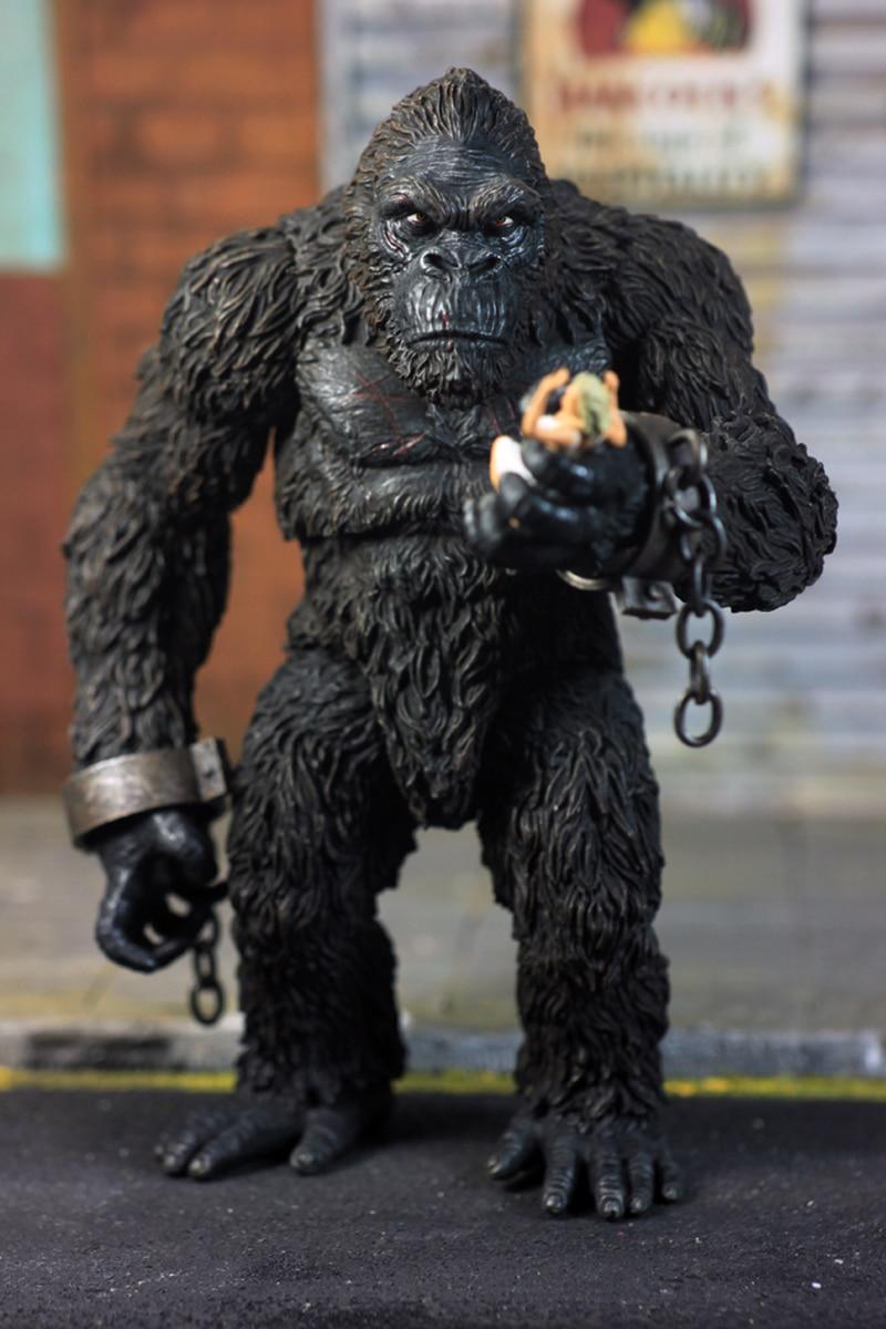 7/'/' PVC Vinyl King Kong Skull Island Collectible Action Figure Alien Figure Toy