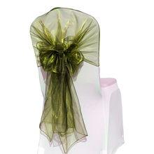 10 шт 65x275 см органзы стул Вытяжки/стул шапки/Обёрточная бумага