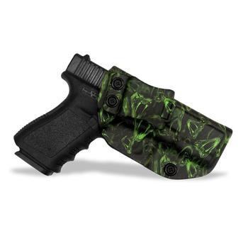 B.B.F Make Тотем Змеи IWB KYDEX кобура для пистолета для: Glock 19 17 22 23 26 27 28 31 43 P320 VP9 Внутри Скрытого Ношения кейс для пистолета