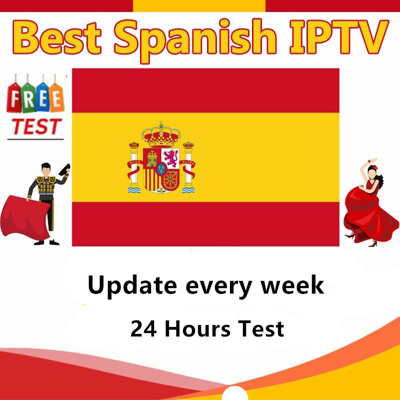 Iptv Spain Subscription M3u Abonnement Caja España Dutch Spanish Germany Iptv For Android Tv Box Enigma M3u Smart TV PC Phone