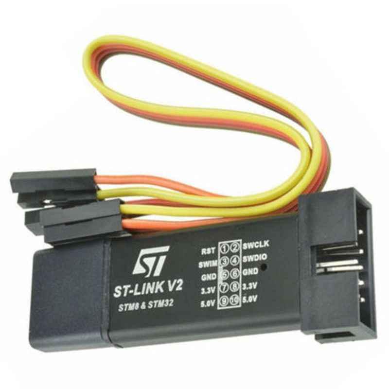 ST-リンク V2 プログラミングユニットミニ STM8 STM32 エミュレータダウンローダ M89 新