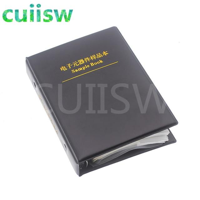 0805 SMD Capacitor Sample Book 92valuesX50pcs=4600pcs 0.5PF~10UF Capacitor Assortment Kit Pack 2