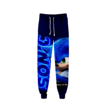2020 Unisex Anime Sonic The Hedgehog Sweat Pants 3D Joggers