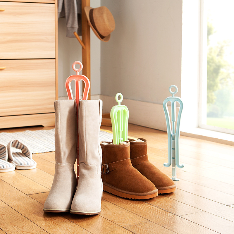 Retractable Boots Thigh Boot Ankle Boots Support Frame Shoe Stretcher Bootleg For The Clamping Shoe Rack Shoes Support