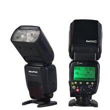 цена на Wholesale Camera Speedlite Flash Light For Canon And Nikon Wireless Master DSLR Professional Top Flash Hot Shoe Flash Light