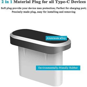 Кабель с разъемом USB типа C анти затычка от пыли в разъем для зарядки и 3,5 мм разъем для наушников, игла для извлечения карты для Huawei Xiaomi Honor ...