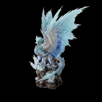 Japan Game Monster Hunter World:iceborne Figure Bingzhou PVC Models Hot Dragon Action Figure Decoration Toy Model