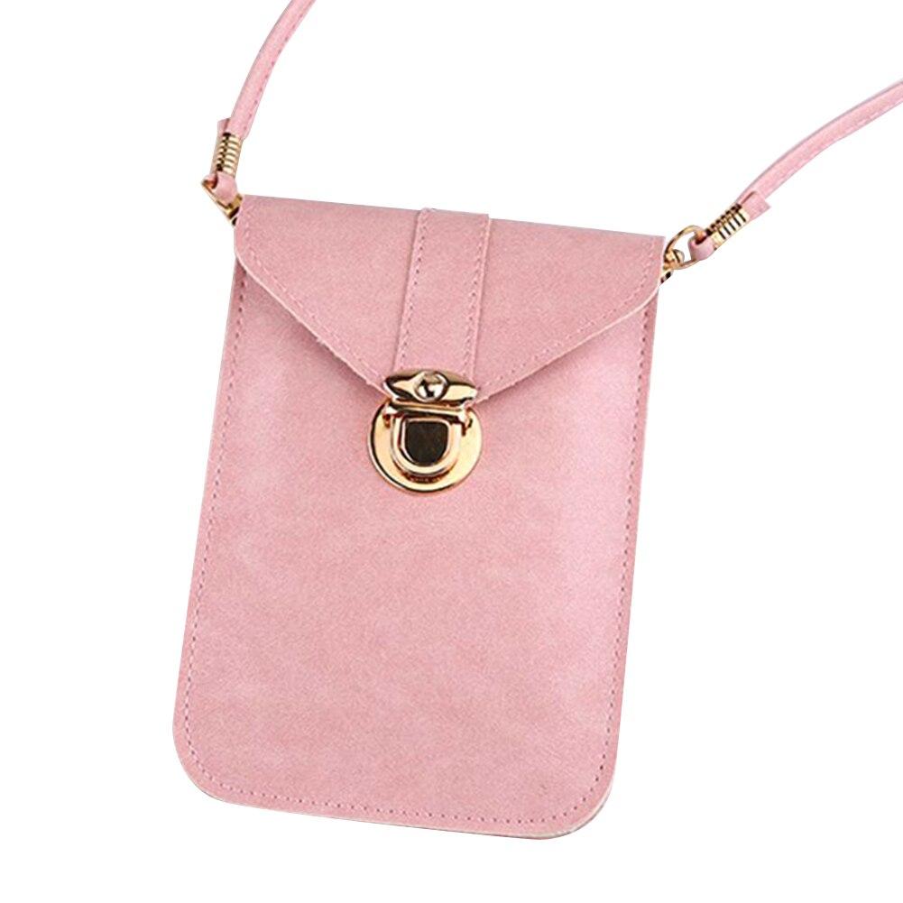 feminina crossbody bolsa de telefone celular carteira