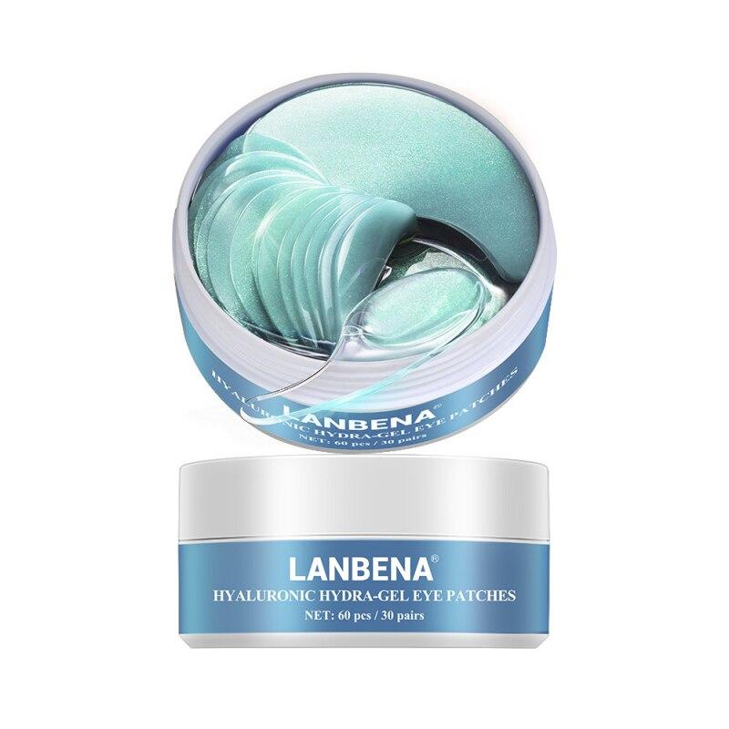 LANBENA 1PC Eye Mask Collagen Eye Patch Skin Care Hyaluronic Acid Gel Moisturizing Retinol Anti Aging Remove Dark Circles TSLM2