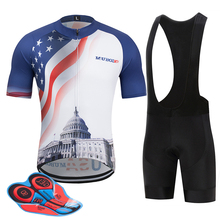 2019 cycling clothing men women jersey sets Short Sleeve go pro team bicycle set 9D gel breathable pad MTB Maillot cicli
